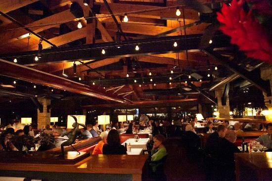 Restaurant Gulfstream Newport Beach California Usa Interior Design Lighting