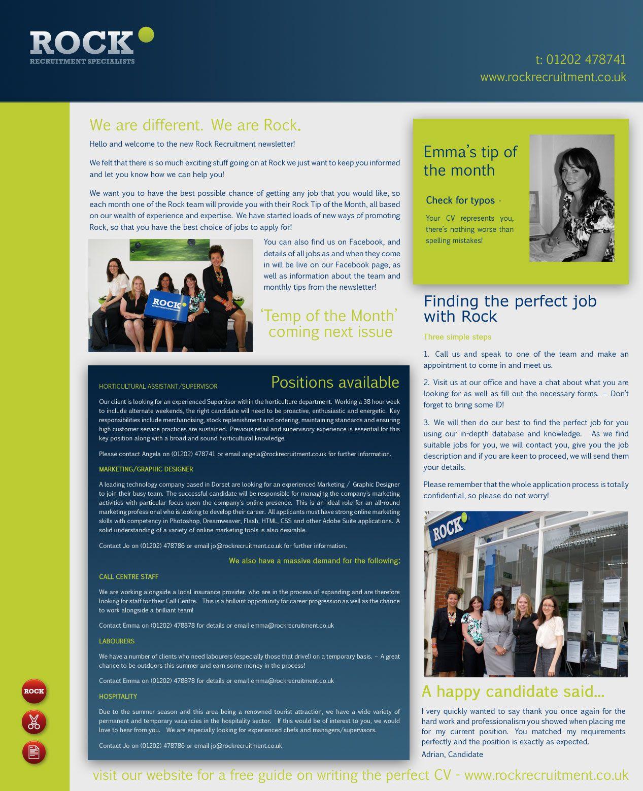 Business Newsletter Template Work Pinterest
