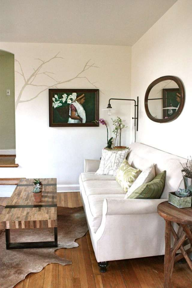Love the greens and the neutrals , via www.zoolz.com