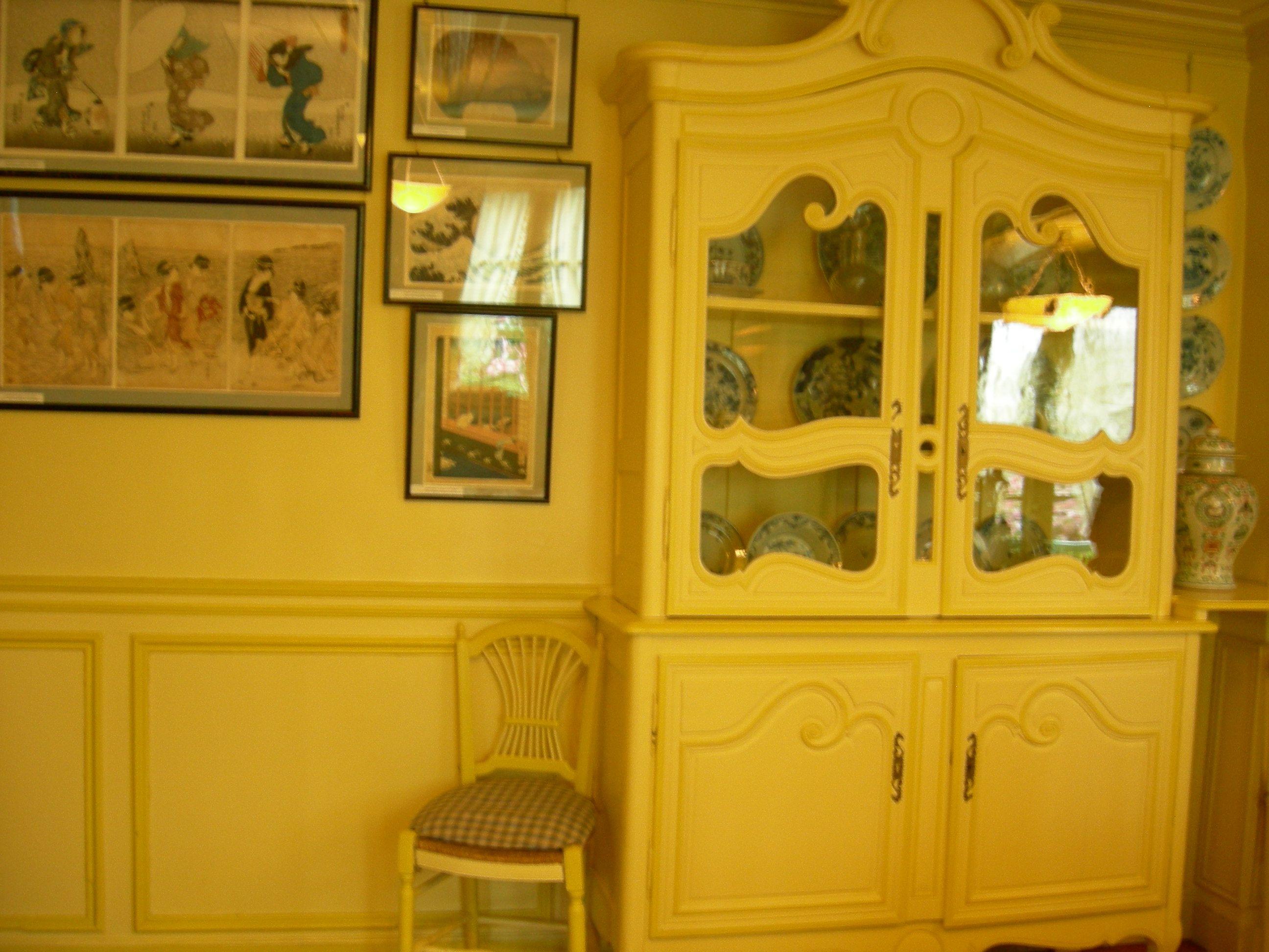 Monet's diningroom