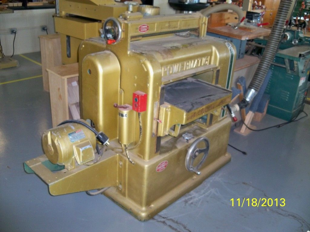 Beautiful Used Woodworking Machines | Lincoln Equipment Liquidation