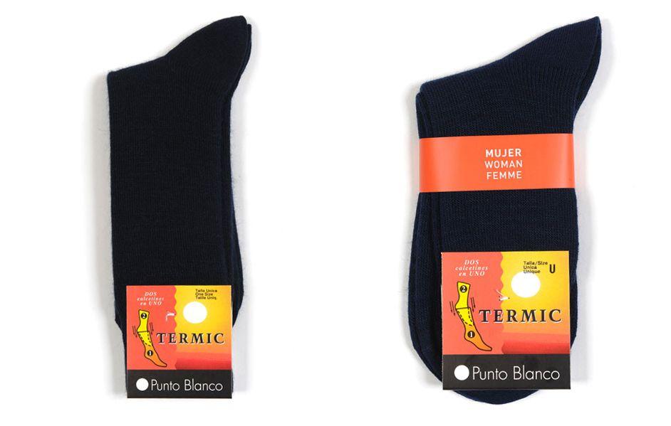 Ahora que se acerca el frío de verdad, calienta tus pies con nuestros calcetines Termic®. Este es un #calcetín de doble capa y con una cámara de aire entre las dos capas ideal para aislar los pies del frío. ¡Confort, durabilidad y resistencia en un calcetín perfecto para este inverno!
