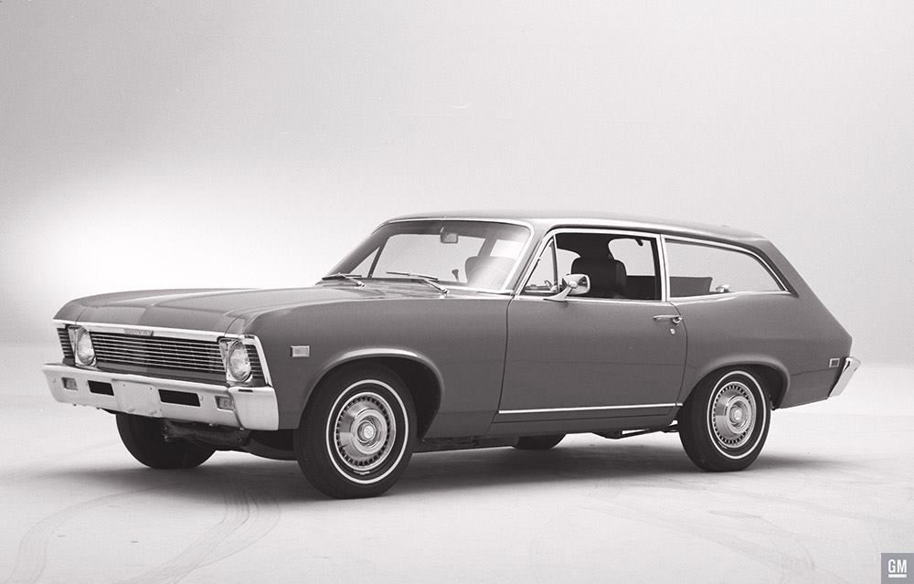 In The Spring Of 1968 Chevrolet And Fisher Body Teamed Up To Create A New Chevy Ii Body Style The Project Was Code Na Concept Cars Dream Cars Old School Cars