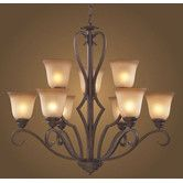 Found it at Wayfair - Lawrenceville 9 Light Chandelier - our new dining room chandelier!!!!!   LOVE IT!!!!!!!!!