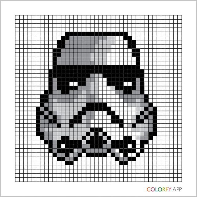 Stormtrooper Star Wars Pixel Art By Kuromigrl Star Wars