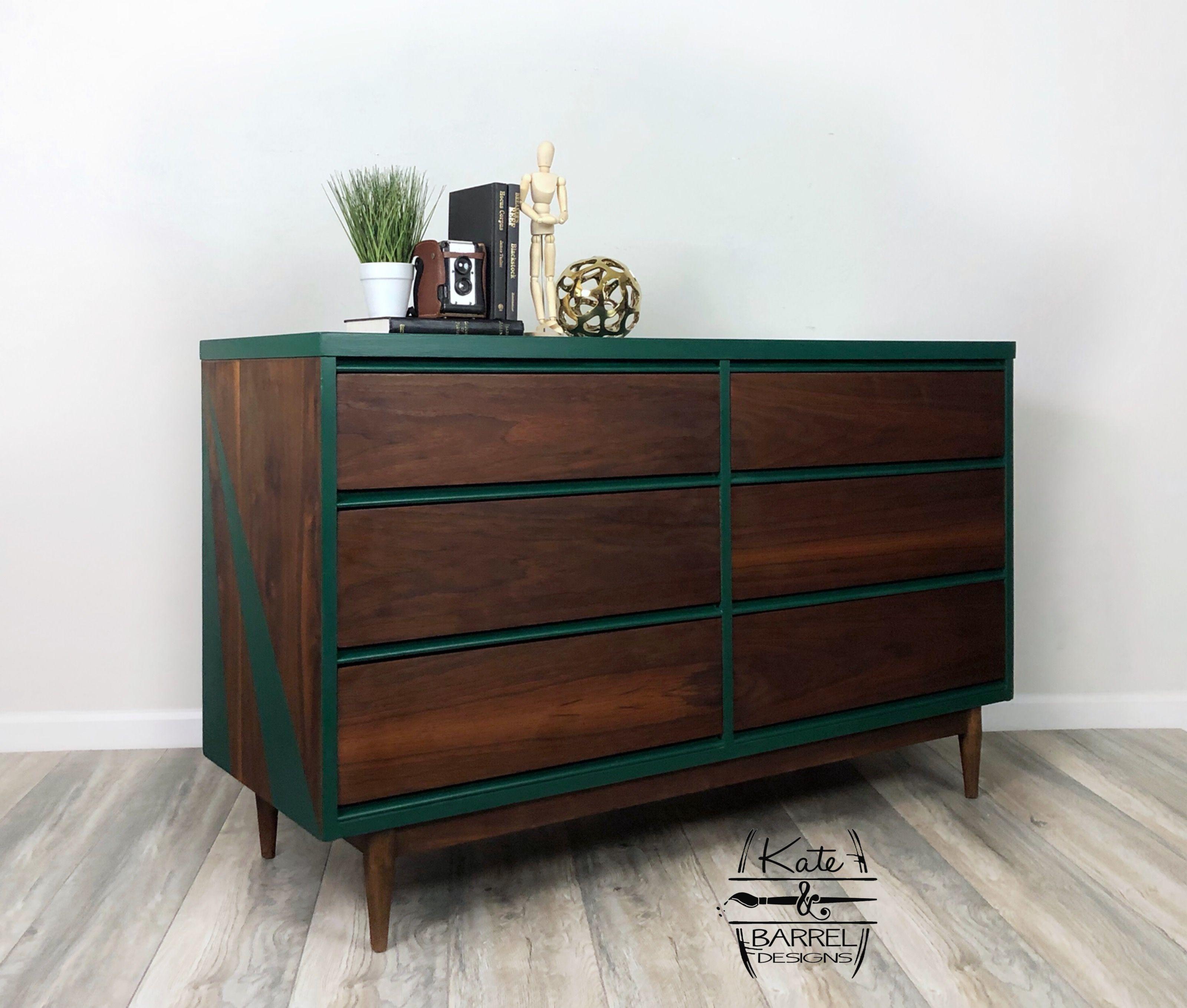 Mid Century Modern Dresser Diy Furniture Renovation Furniture Renovation Furniture Makeover