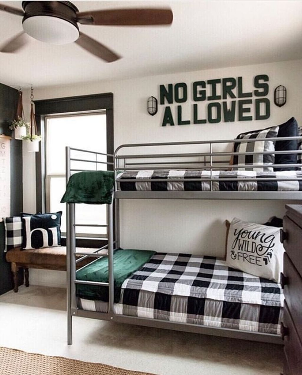 30+ Vintage Shared Rooms Decor Ideas For Teen Boy images