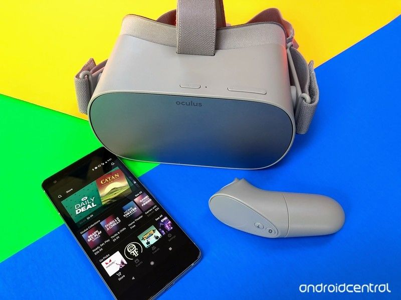 How to set up your Oculus Go Smartphone, Vr headset