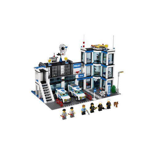 Amazoncom Lego Police Station Cake Decorating Tips And