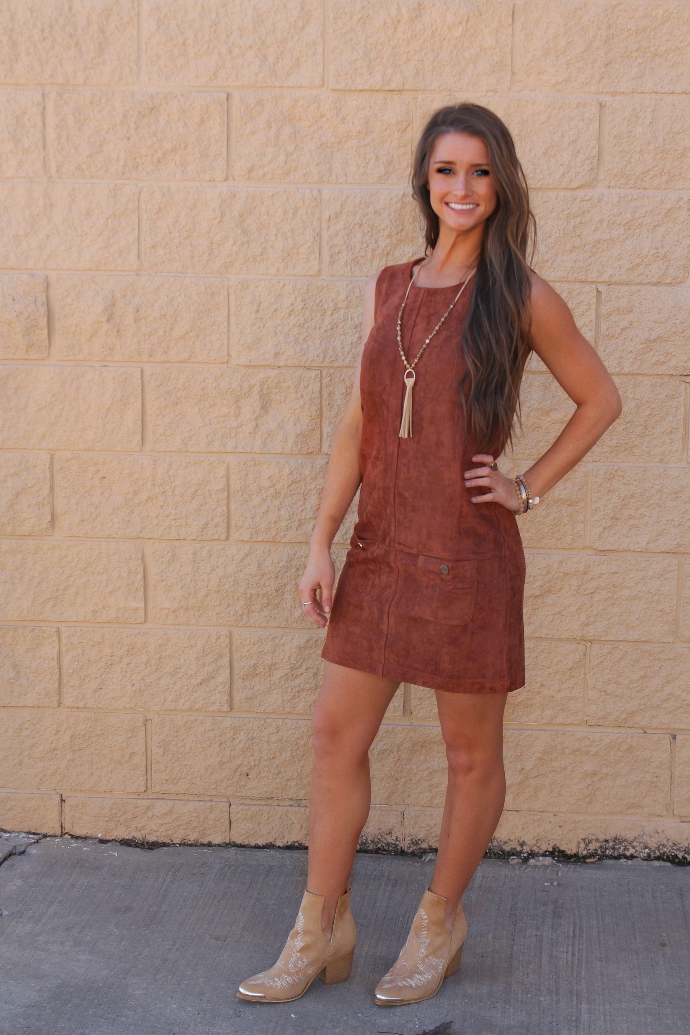 suede dress 2 0