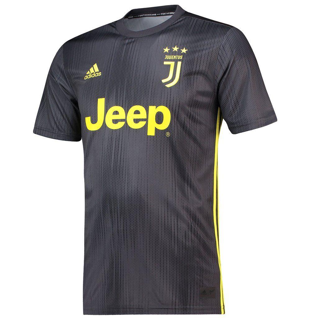 Juventus Adidas Third 2018 19 Futbol Soccer Club Kit Calcio Shirt Football Jersey Fussball Camisa Trikot Maillot Maglia Juventus Football Tops Soccer Jersey