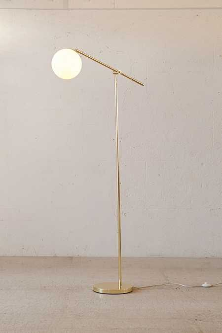 Globe Floor Lamp | Floor lamp, Spaces and Lights
