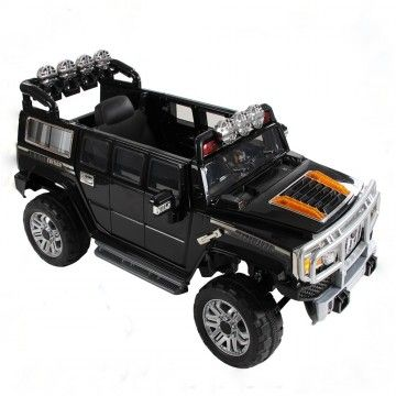 Extended Hummer H3 Style Kids 12v Ride On Car With Remote Control Toy Fire Trucks Hummer Tractor Toy