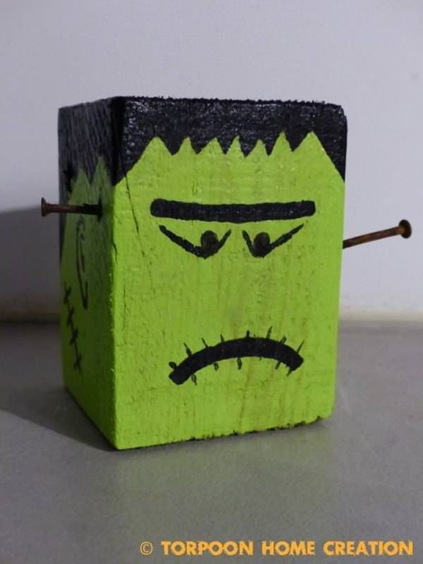 Easy Pallet Crafts For Halloween Fun Pallet Crafts for Kids