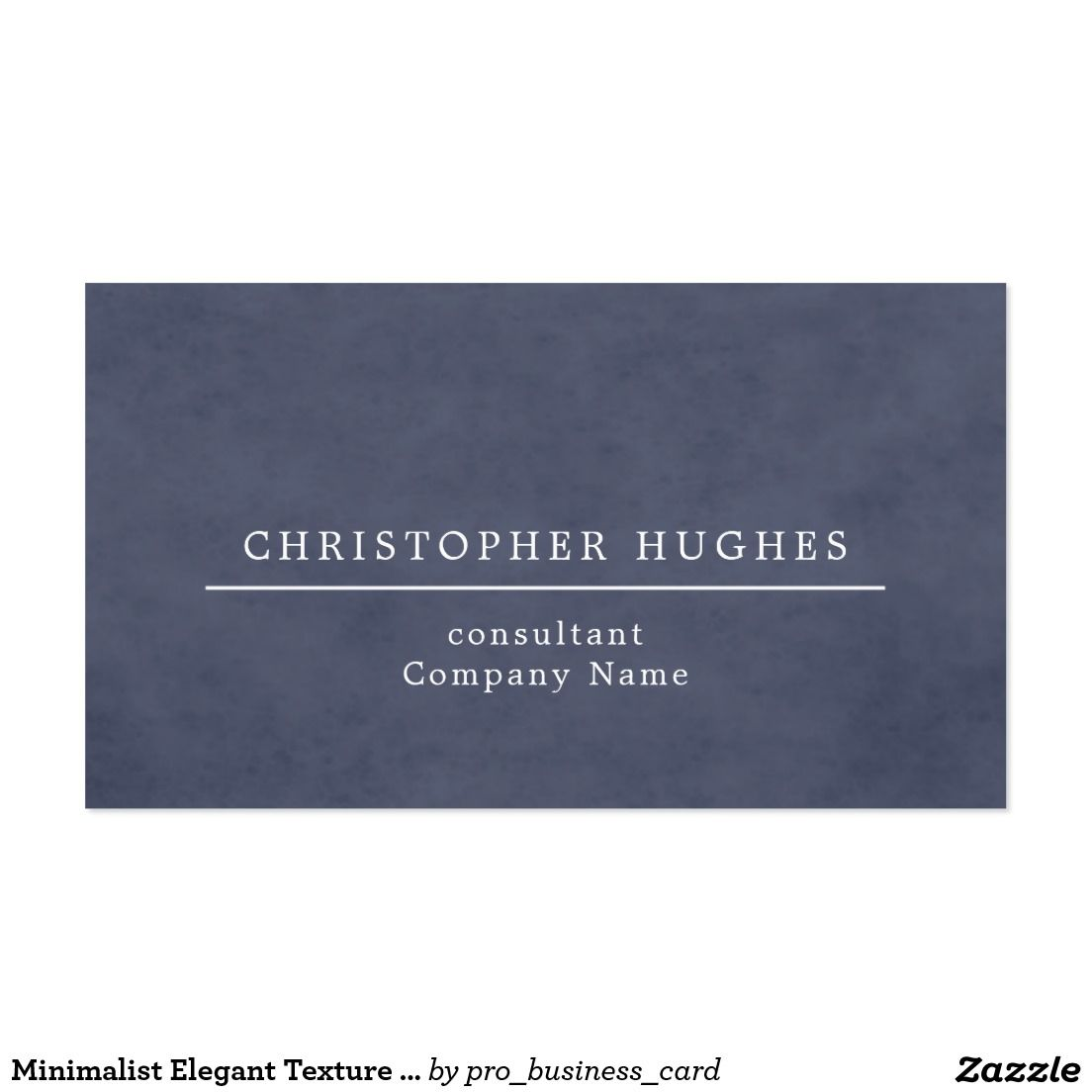 Minimalist Elegant Texture Blue Attorney at law | Business Cards on ...