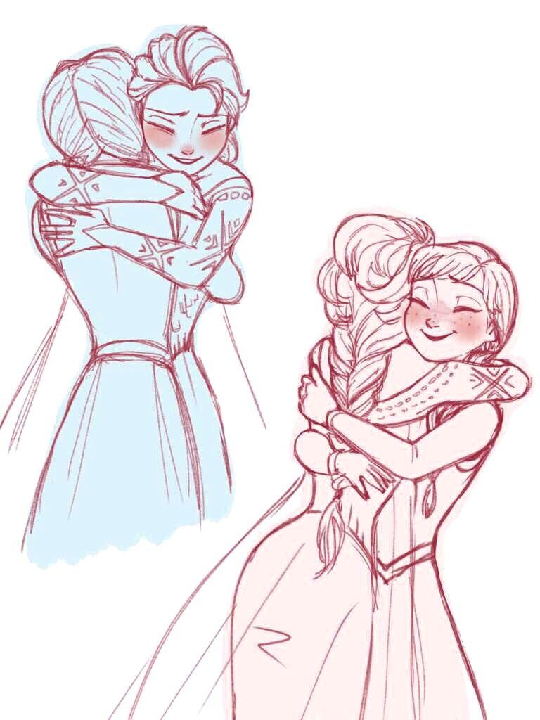anna and elsa drawing disney princess pinterest elsa anna and