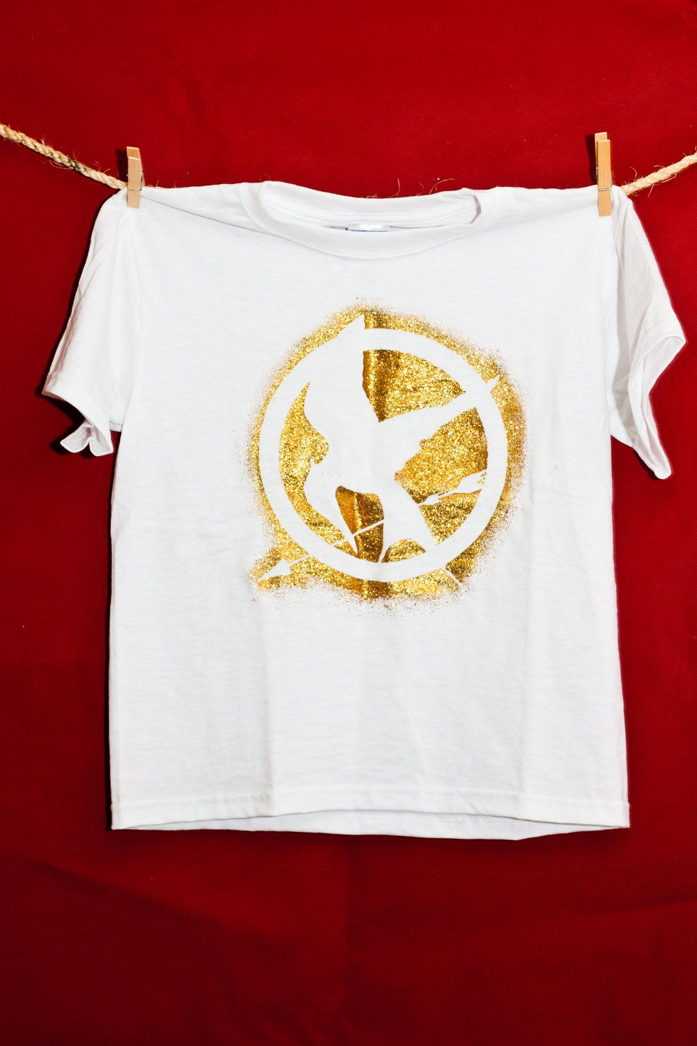 Hunger Games Mockingjay outline shirt by ... |Hunger Games Mockingjay Pin Outline