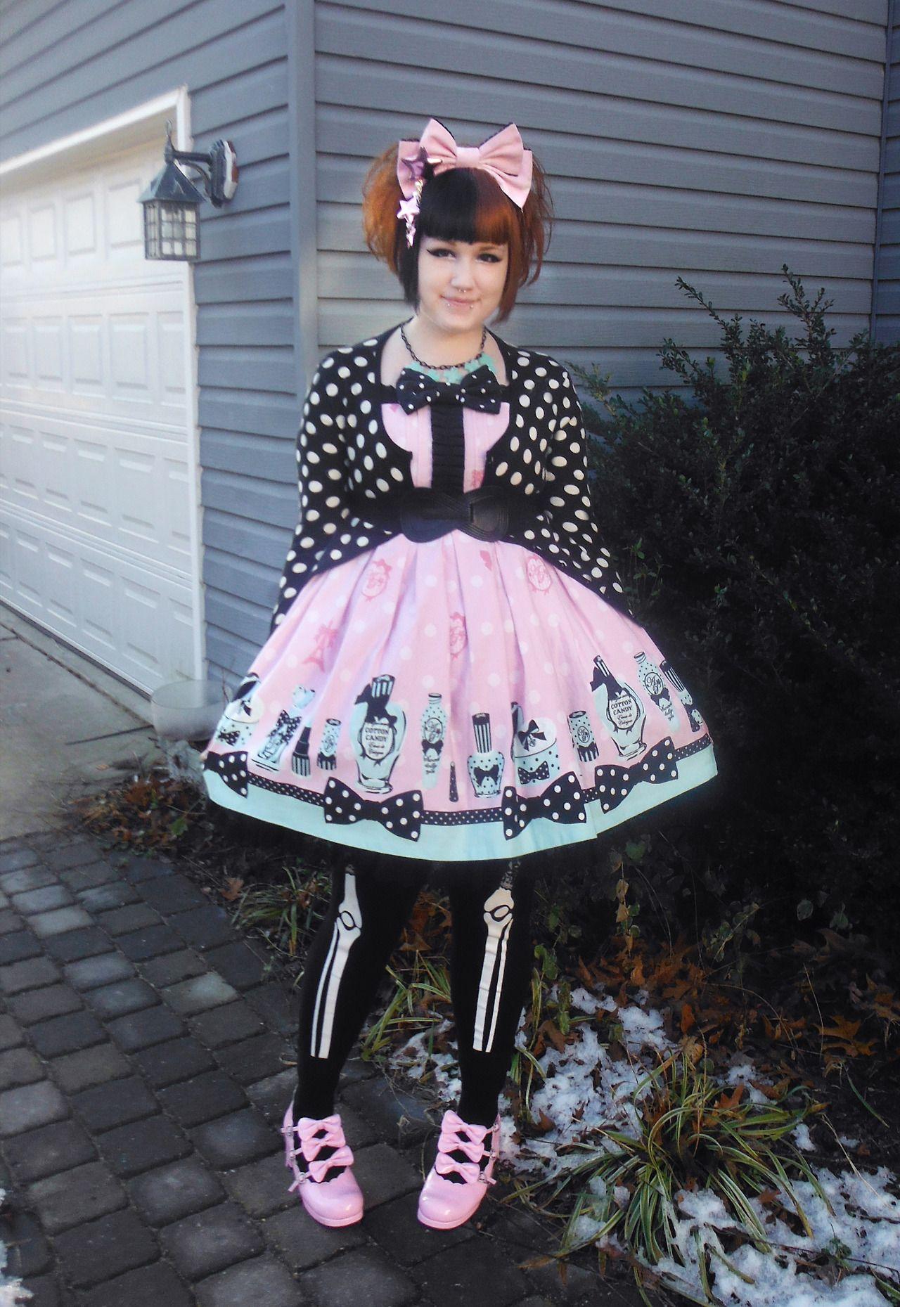 Frilly Sissy Tumblr for creepy cute   tumblr   my style - creepy cute   pinterest   creepy