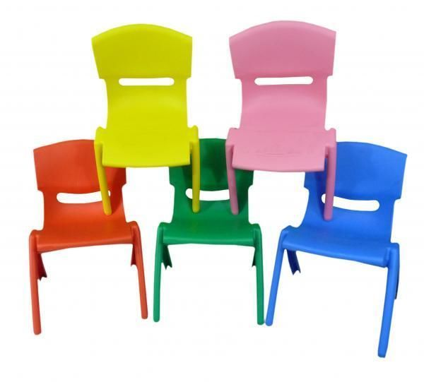 Ordinaire Details About Stackable Kids Children Plastic Chair Home Picnic Party Up To  60kg In 5 Colours