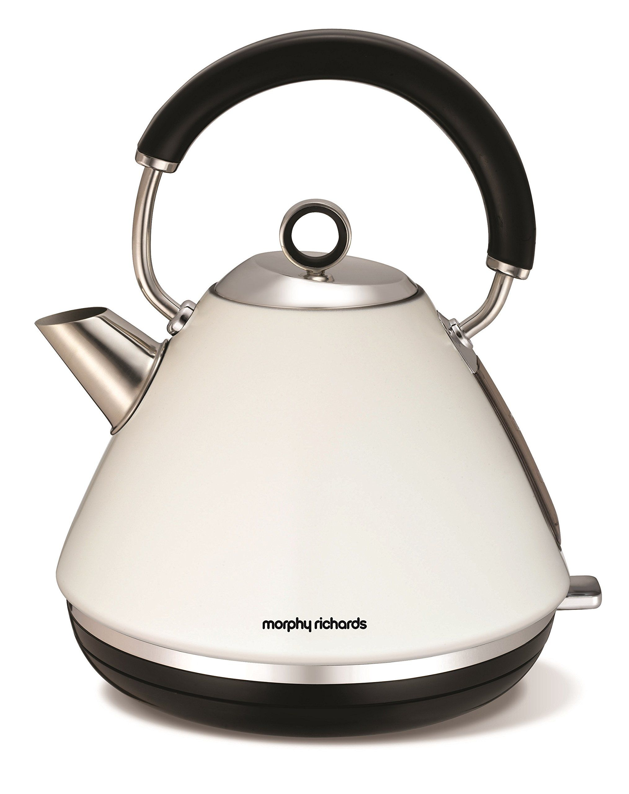 Morphy Richards 102005 Accents Pyramid Kettle White