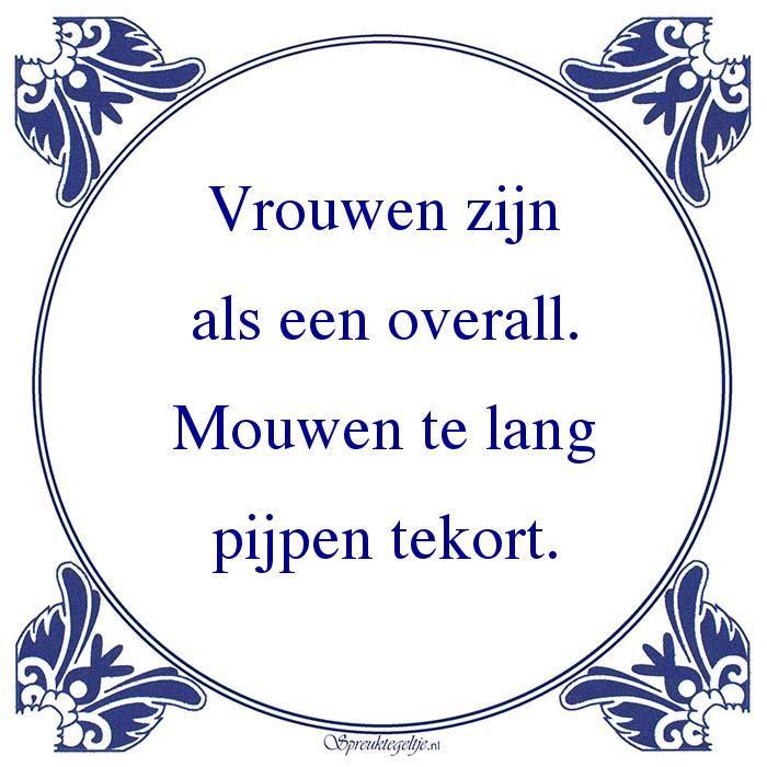 vrouwonvriendelijke spreuken Gevonden op spreuktegeltje.nl via Google o.k.  vrouwonvriendelijke spreuken