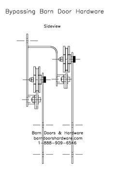 diy bypass barn door hardware. Bypass Barn Door Hardware Diy N