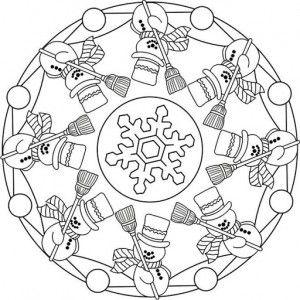 winter mandala coloring pages 5 kardanadam kardan