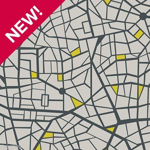 Grey Black And Yellow Vinyl Flooring Lino City Design 2 3 And 4m Widths New Vinyl Flooring Vinyl Flooring Kitchen Cheap Vinyl Flooring