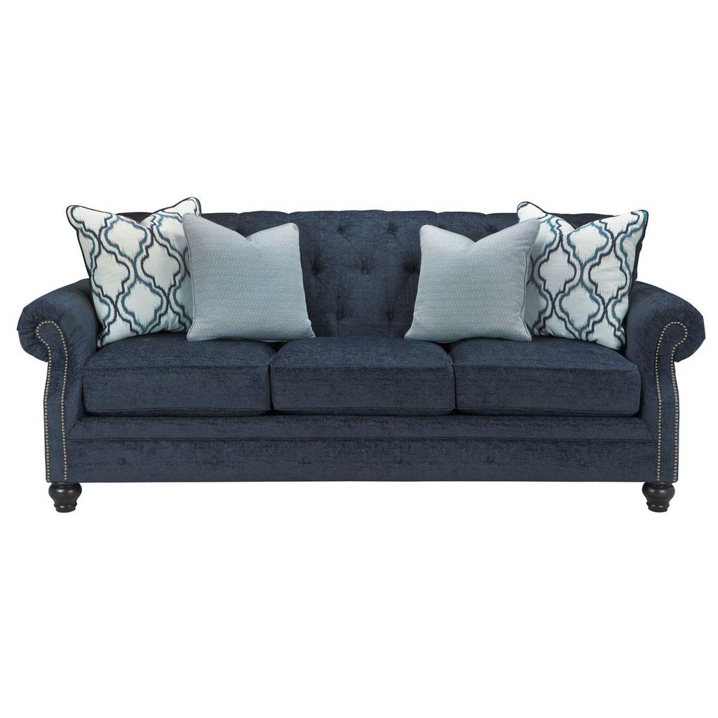 Best Shirly Sofa Loveseat Blue Tufted Sofa Love Seat Sofa 400 x 300