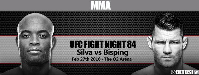 Ufc Fight Night 84 Silva Vs Bisping Betting Odds At Betdsi Sportsbook Ufc Fight Night Ufc Ufc Betting