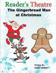 Christmas Play Readers Theater The Gingerbread Man December