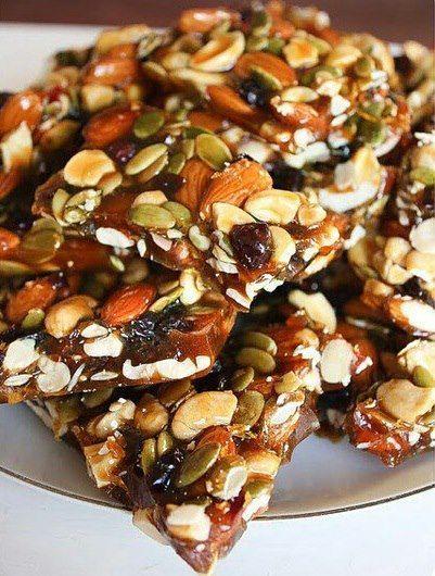 Vegan  Proudproud Vegan  Proud Maxine maxinea79 Veggie Foods AUTUMN BRITTLE 1 cup almonds 1 cup cashews 34 cup pumpkin seeds 23 cup dried cranberries 2 14 cups sugar 14 c...