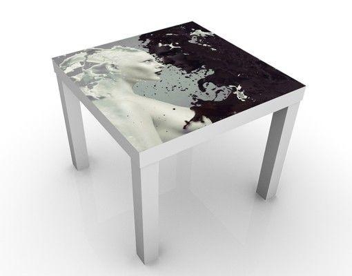 Design #Tisch Milk #Flur #Gestaltung #Diele #Ideen #Dekoration ...