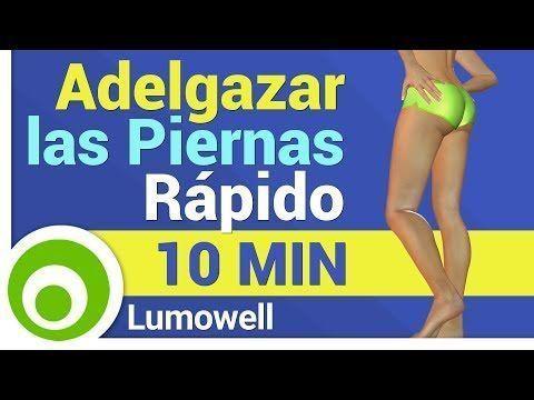 ejercicios para adelgazar piernas en 8 minutos