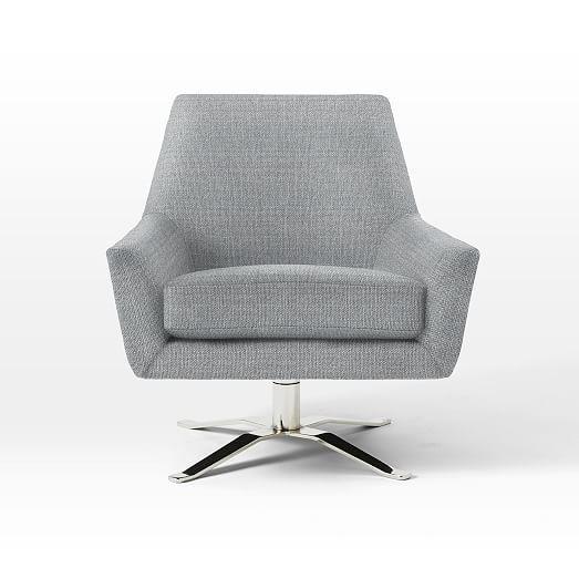 Marvelous Lucas Swivel Base Chair In 2019 Living Room Chair Machost Co Dining Chair Design Ideas Machostcouk