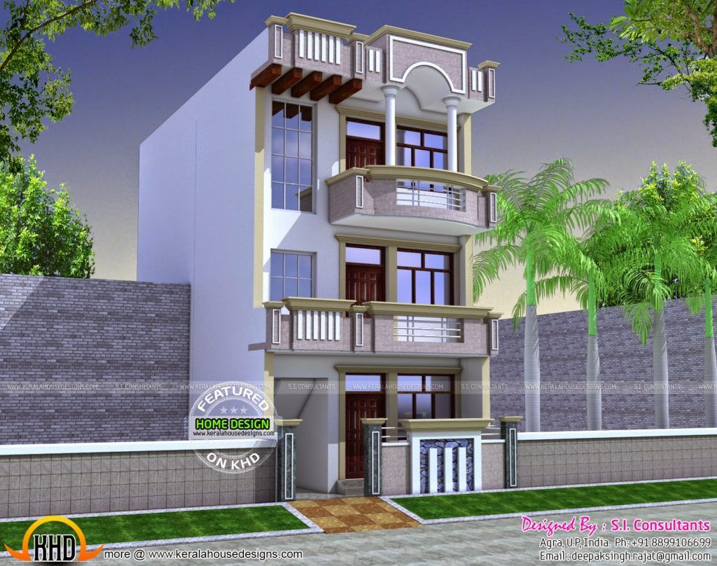 15 X 60 House Plan Map Luxury House Plan For 20 Feet By 45 Feet Plot 90617400004 House Plan In 20 60 P Kerala House Design 2bhk House Plan 20x30 House Plans