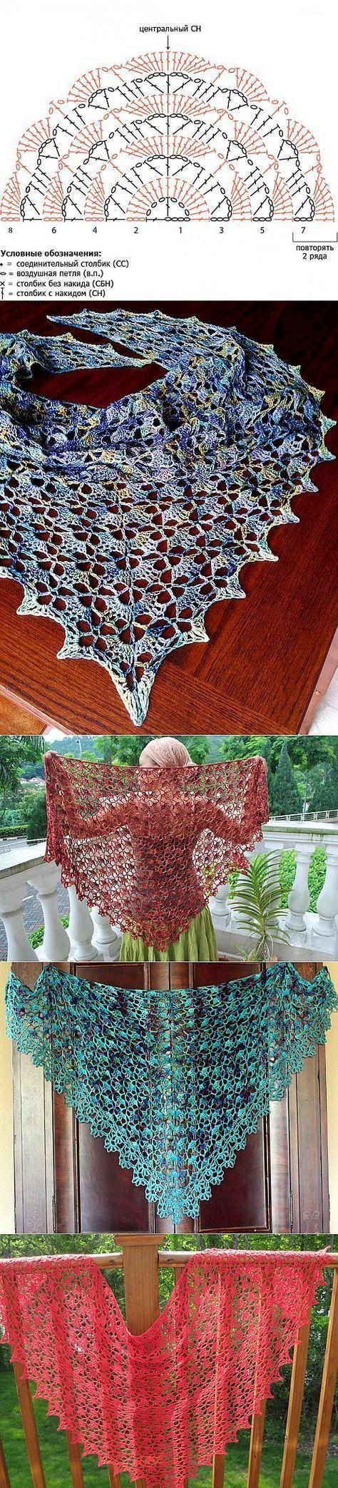 Muster für Poncho von oben gearbeitet | Poncho häkeln anleitung kostenlos, Poncho häkeln, Poncho muster #crochetshawlpatterns