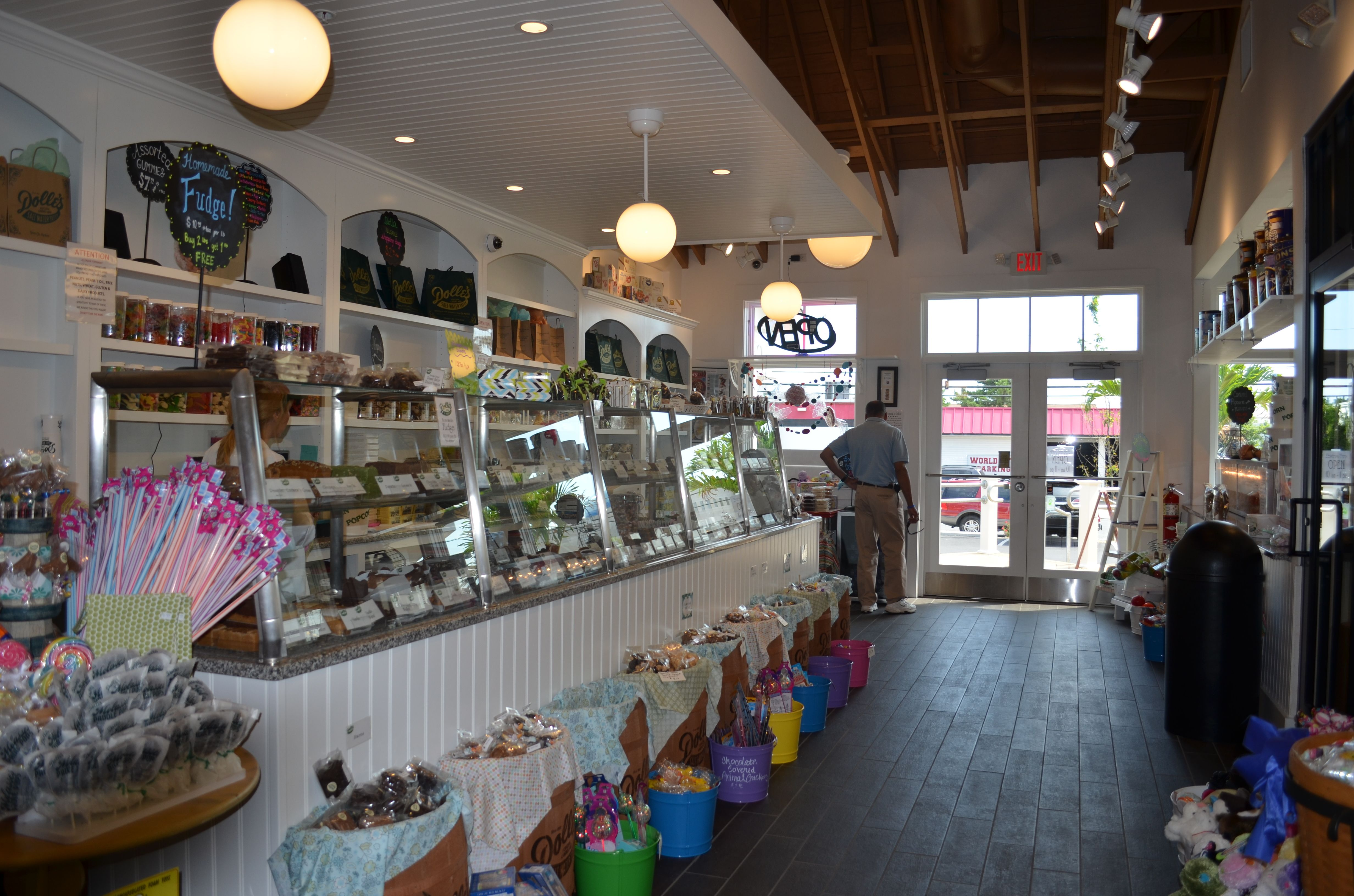 A candy store and history lesson all rolled into one little area!  Come see!