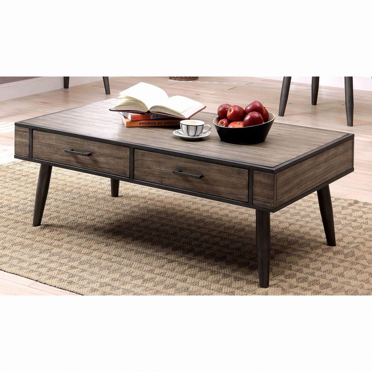 55 Beautiful Industrial Wheeled Coffee Table 2018