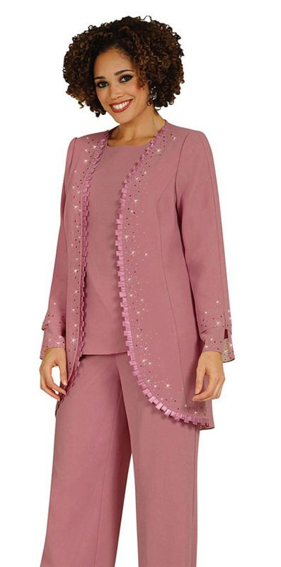 Mother of the Bride Pant Suits | Misty Lane 13440 Mother of Bride ...