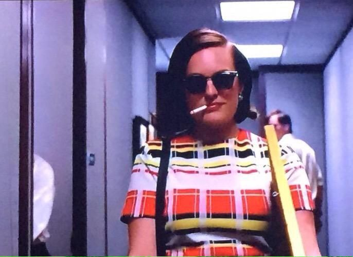 I want to have a Peggy Olsen kind of day #badass #MadMen