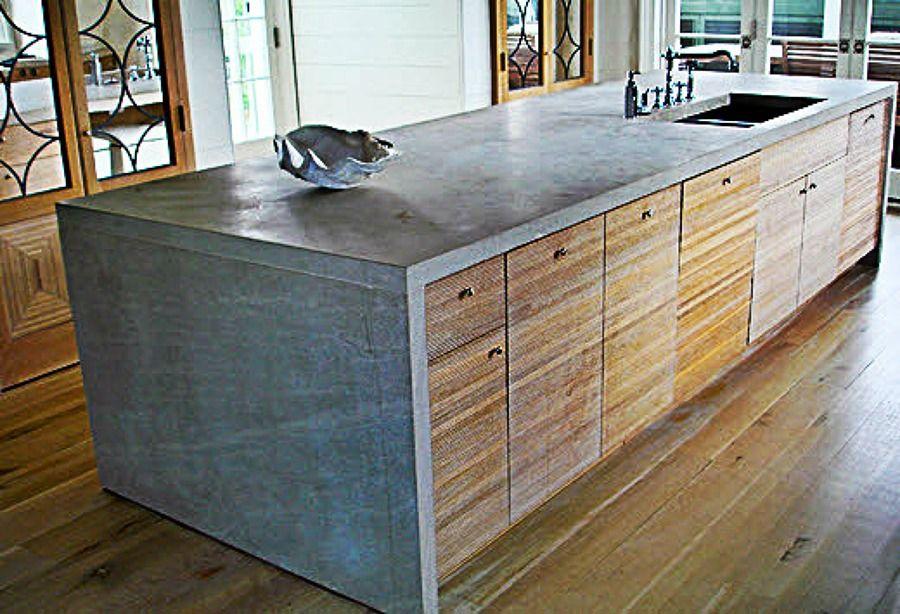 Bancada Concreto Ou Cimento Queimado Para Cozinha Preciso Fazer