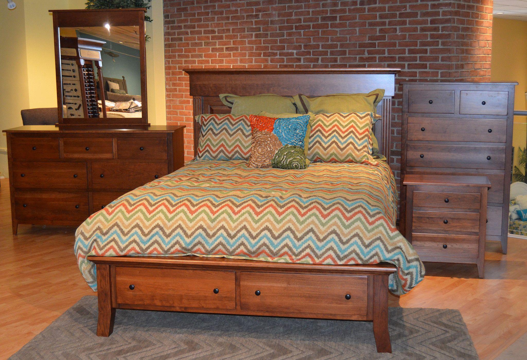 Jamestown (QN Bed, Dresser & Mirror ) | Furniture I Love! | Pinterest