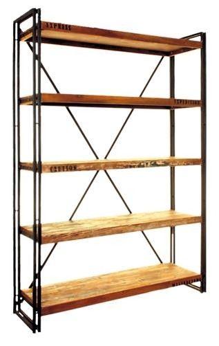 Urban Chic Large Open Bookcase Https Www Tradepricefurniture Co Uk