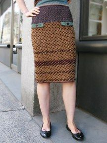 Lafcadio Knitted Skirt by Catherine Andre