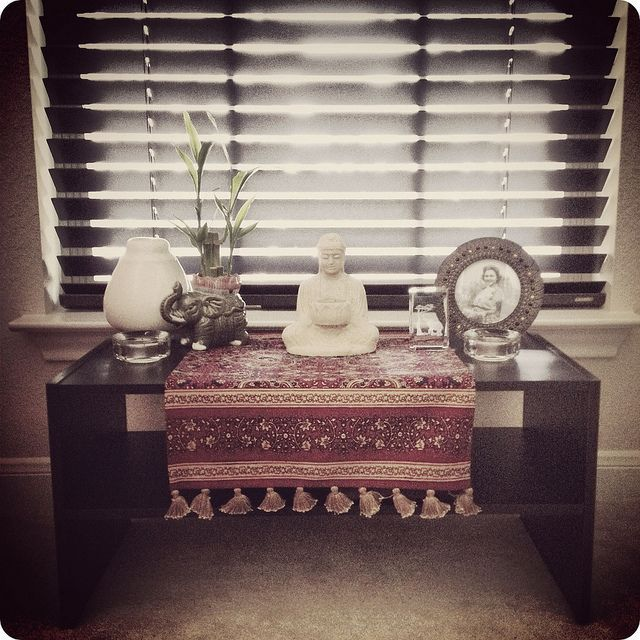 Good My Low Budget Meditation Table Altar