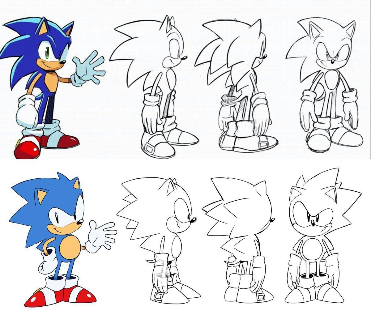Pin De Raquel Cronenbold En Sonic Arts Como Dibujar A Sonic Sonic Dibujos Sonic Para Colorear