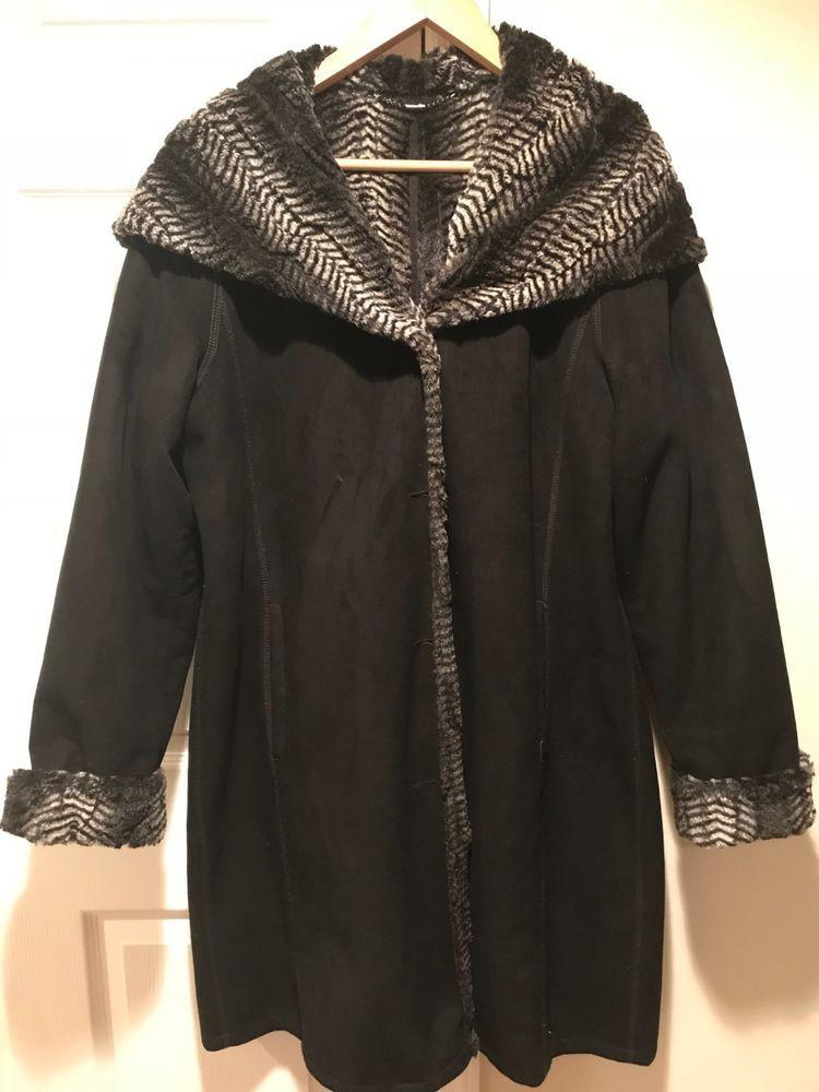 2832f2462d4 EUC Women winter coat jacket Baronia size 10 designed in Germany hood fur   fashion  clothing  shoes  accessories  womensclothing  coatsjacketsvests  (ebay ...