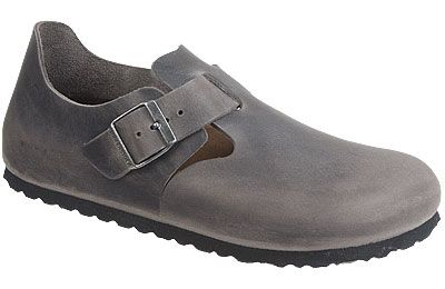 fully enclosed black leather shoes