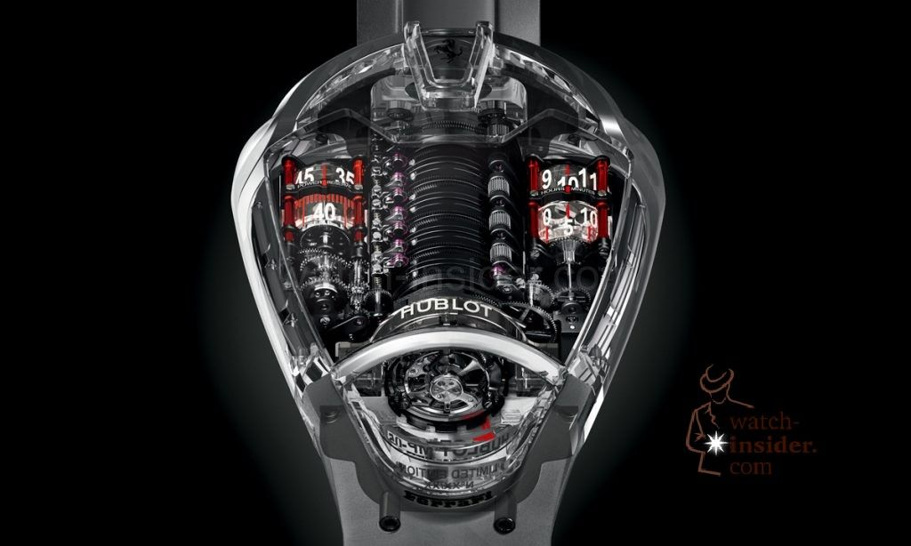 Hublot Mp 05 Laferrari Sapphire Hublot Futuristic Watches Luxury Watches